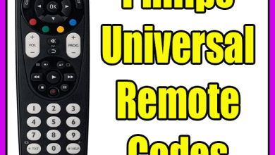 Philips Universal Remote Codes