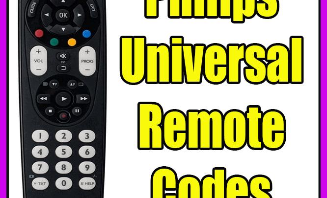 Philips Universal Remote Codes