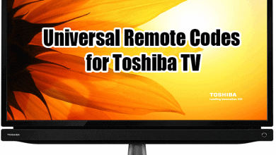 universal remote codes for toshiba tv