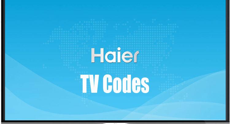 Haier TV Codes