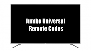 Jumbo Universal Remote Codes