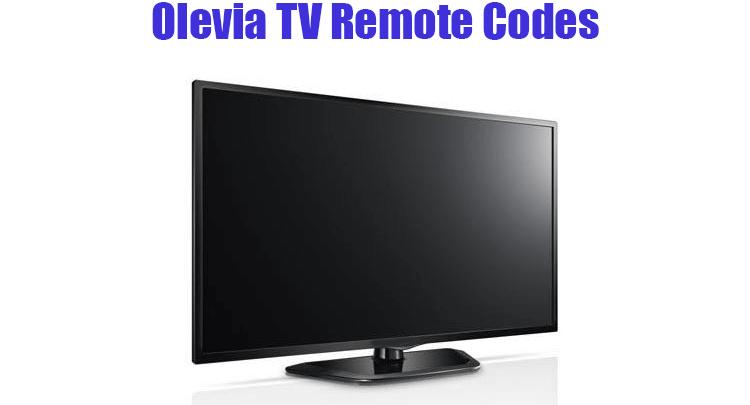 Olevia TV Remote Codes