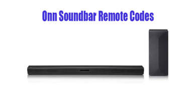 Onn Soundbar Remote Codes