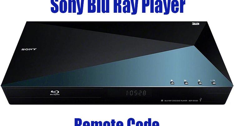 Sony Blu Ray Player Remote