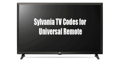 Sylvania TV Codes for Universal Remote