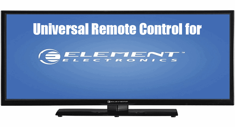 Universal Remote Control for Element TV
