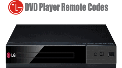 lg dvd player remote codes