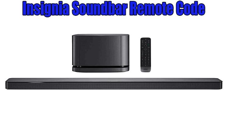 Insignia Soundbar Remote Code