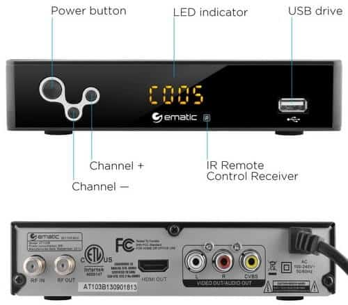 ematic converter box remote app