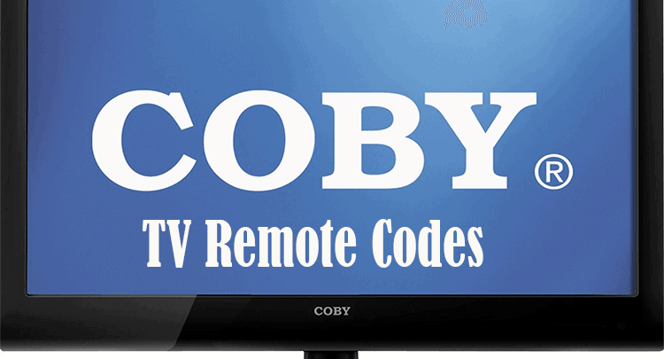 Coby TV Remote Codes