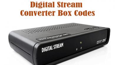 Digital Stream Converter Box Codes