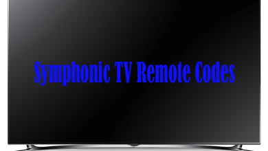 symphonic tv codes for rca universal remotes